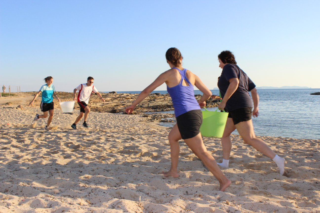 Fitness Reise Mallorca - Beachworkout