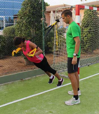 Fitness Reise Mallorca TRX Traininig